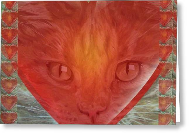 Valentine Gallery Number 3 Greeting Card by PainterArtist FIN