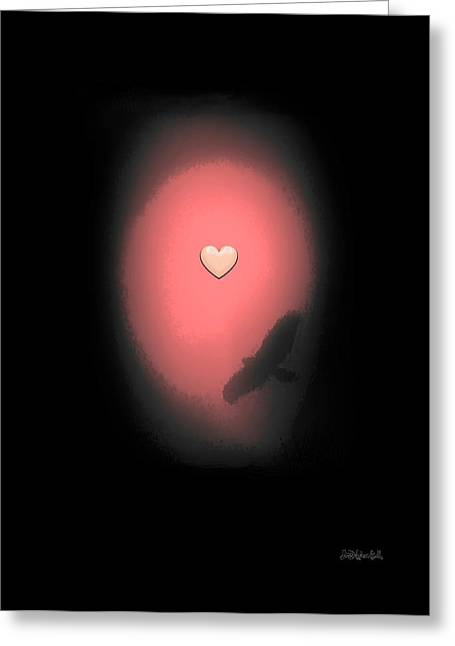 Valentine Heart 3 Greeting Card by Brian D Meredith