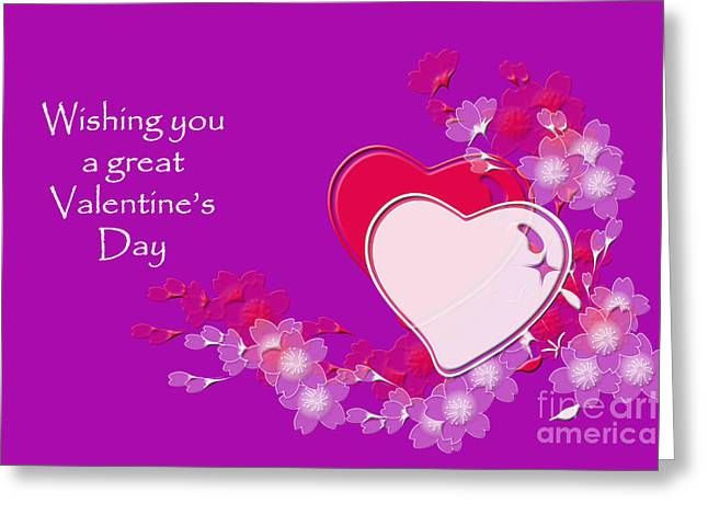 Greeting Card featuring the photograph Valentine by Randi Grace Nilsberg