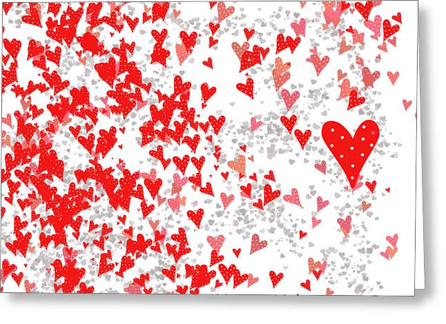 Valentine's Day Card Greeting Card by Trilby Cole