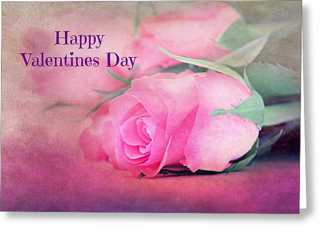 Valentines Day Greeting Card by Heike Hultsch