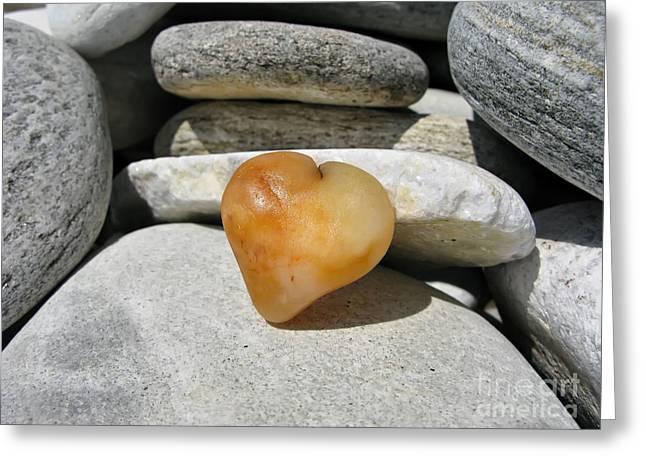 Valentine's Day - Precious Heart Greeting Card by Daliana Pacuraru