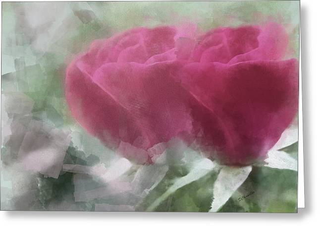 Valentine's Roses Greeting Card