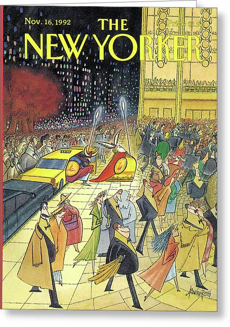 New Yorker November 16th, 1992 Greeting Card