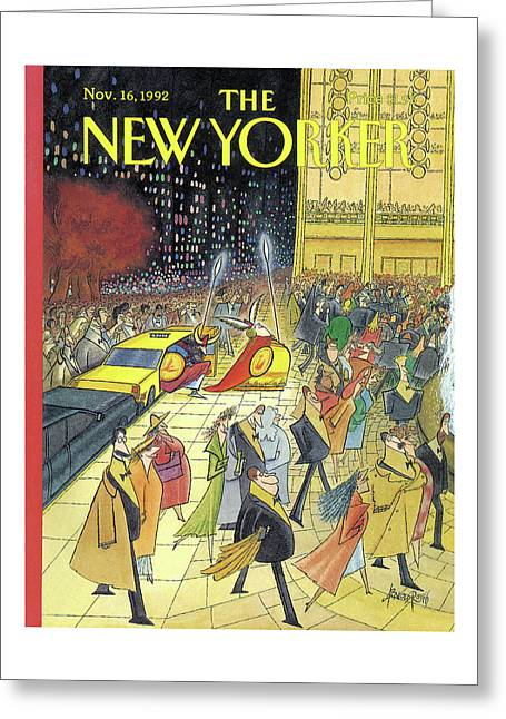 New Yorker November 16th, 1992 Greeting Card