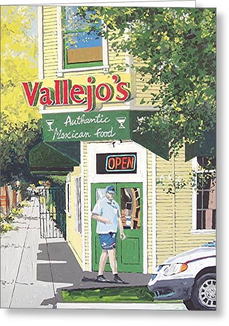 Vallejo's Greeting Card by Paul Guyer
