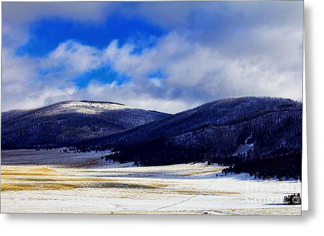 Valles Caldera V2 Greeting Card