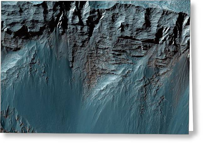 Valles Marineris Greeting Card by Nasa