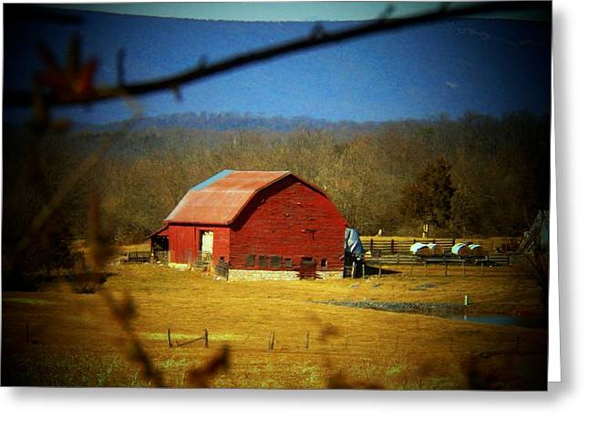 Valley Barn Greeting Card