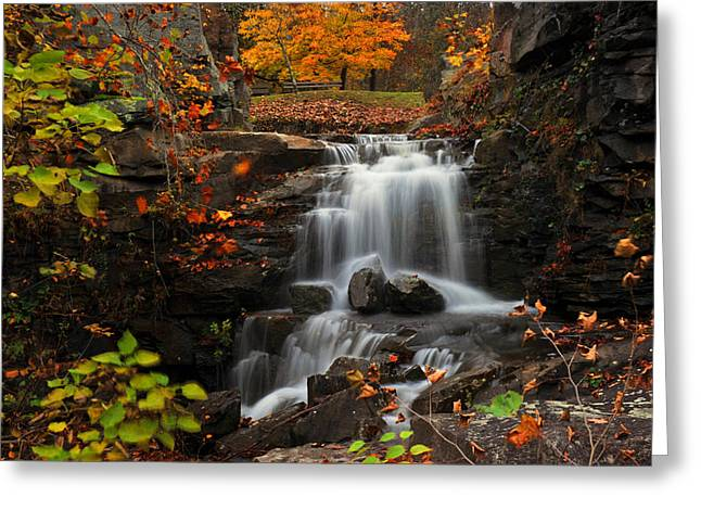 Valley Falls West Virginia Greeting Card by Dung Ma