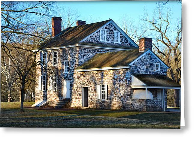 Valley Forge - Washington's Headquarters Greeting Card