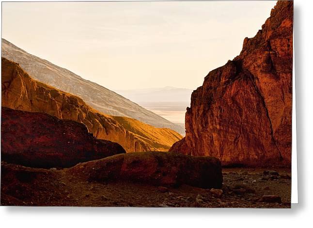Valley Of Fire Morning Sun Greeting Card