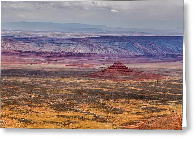 Valley Of The Gods Greeting Card by Pierre Leclerc Photography