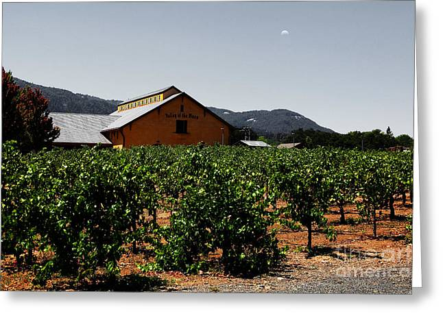 Valley Of The Moon Sonoma California 5d24485 V2 Greeting Card by Wingsdomain Art and Photography