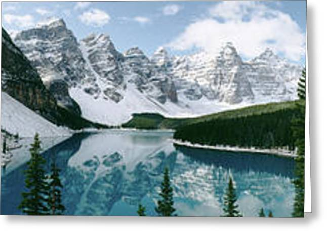 Valley Of The Ten Peaks, Banff National Greeting Card