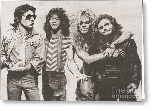 Van Halen Greeting Card