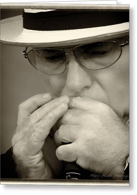 Van Morrison Greeting Card