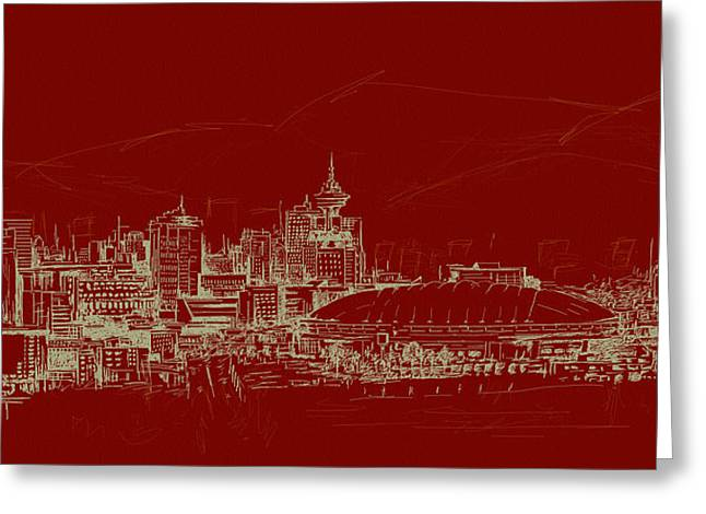Vancouver Art 007 Greeting Card by Catf