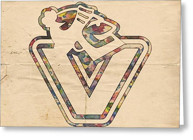 Vancouver Canucks Old Style Logo Greeting Card