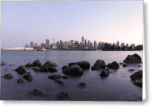Vancouver From Stanley Park Greeting Card