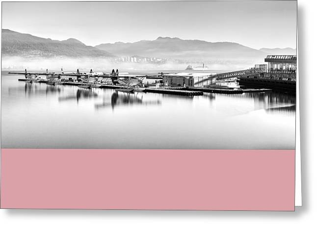 Vancouver Mist Greeting Card by Alexis Birkill