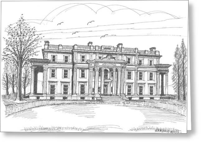 Vanderbilt Mansion Greeting Card
