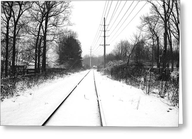 Vanishing Point. Greeting Card
