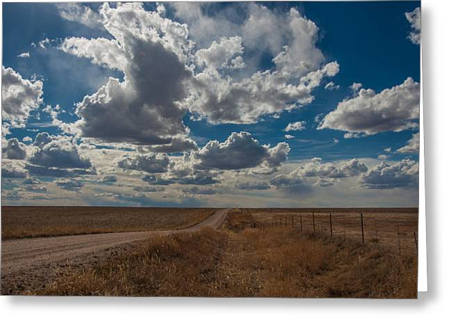 Greeting Card featuring the photograph Days Of Our Lives In Kansas by Shirley Heier
