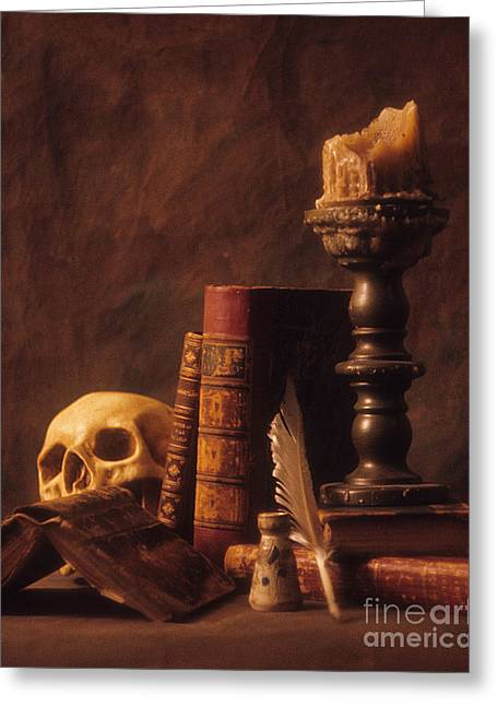 Vanitas Still Life Greeting Card by ELDavis Photography