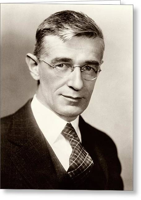 Vannevar Bush Greeting Card