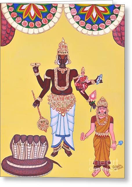 Varahamurti Greeting Card