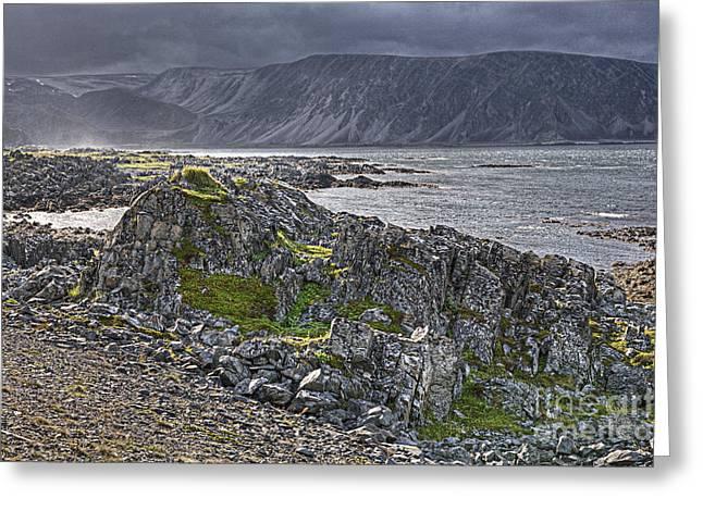 Varanger Coast Greeting Card by Heiko Koehrer-Wagner