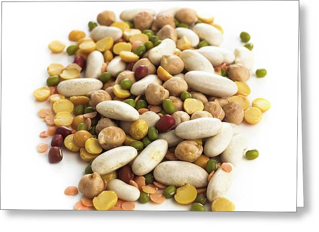 Various Pulses Greeting Card by Science Photo Library