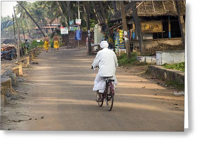 Varkala Kerala South India Greeting Card by Martin Turzak