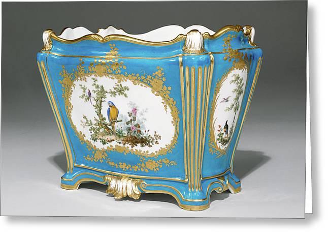 Vase Cuvette à Tombeau, Première Grandeur Painted Greeting Card by Litz Collection