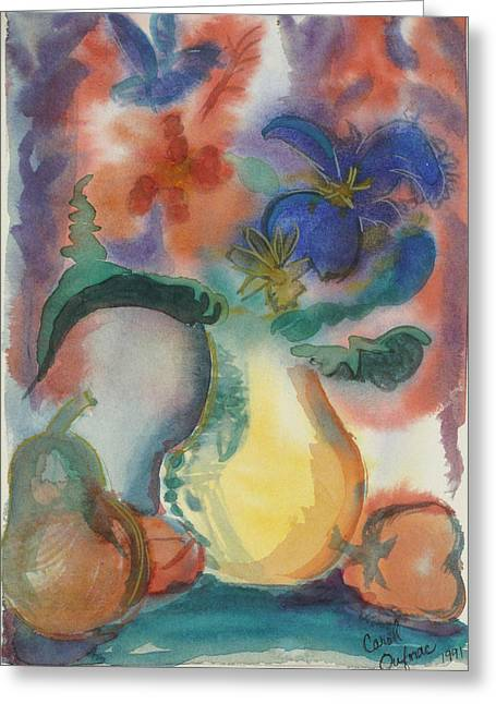 Vase Still Life 1 Greeting Card