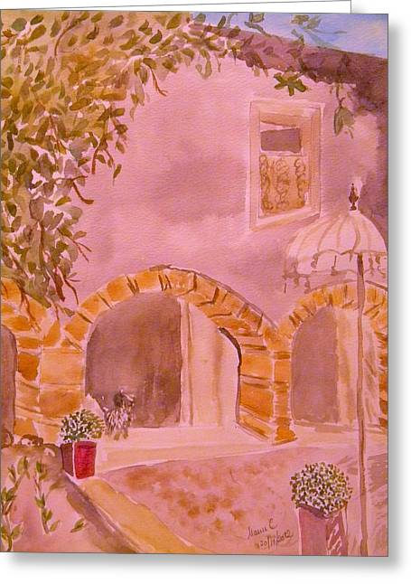 Vaucluse Provence Greeting Card by Manuela Constantin