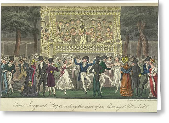 Vauxhall Gardens Greeting Card
