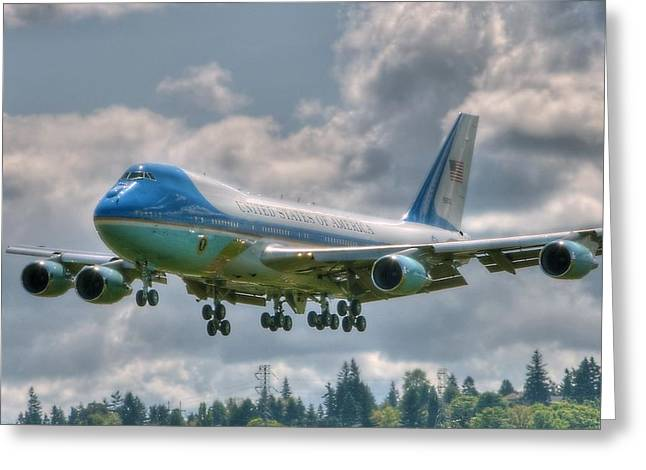 Vc25 - Air Force One  Greeting Card