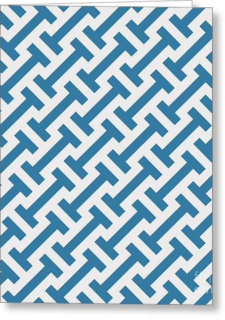 Vector Geometric Pattern. Seamless Greeting Card by Rodin Anton