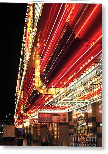 Vegas Neon Greeting Card