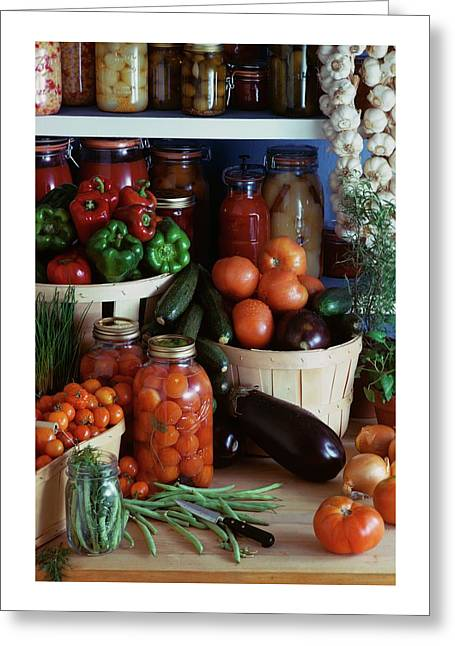 Vegetables For Pickling Greeting Card