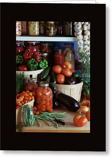 Vegetables For Pickling Greeting Card by Emerick Bronson