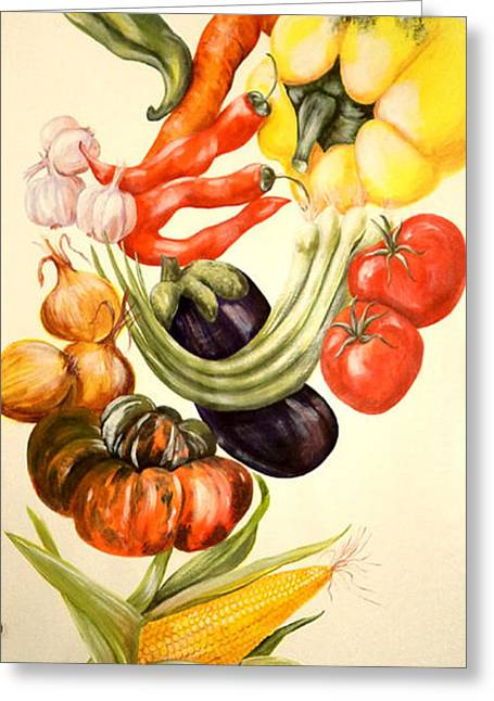Vegetables No. 1 Greeting Card