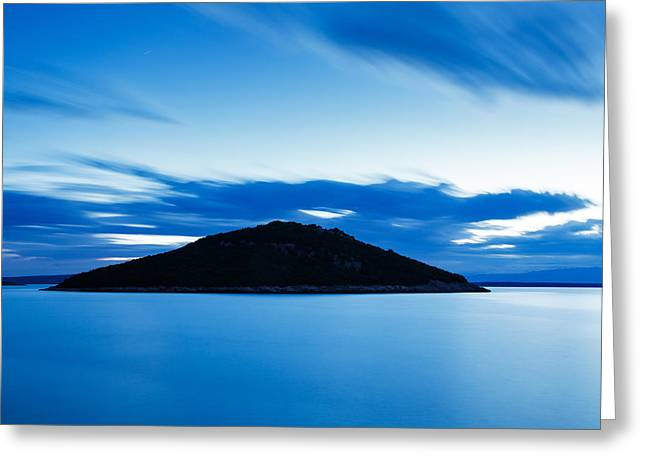 Veli Osir Island At Dawn Greeting Card