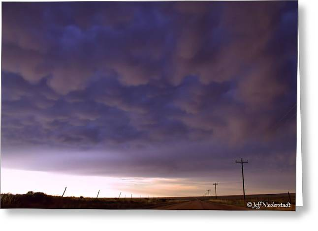 Velvet Mammatus Greeting Card
