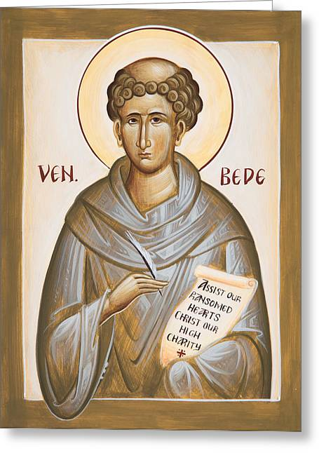 Venerable Bede Greeting Card
