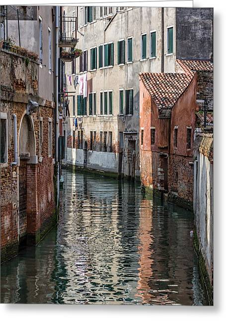 Venetian Building Greeting Card