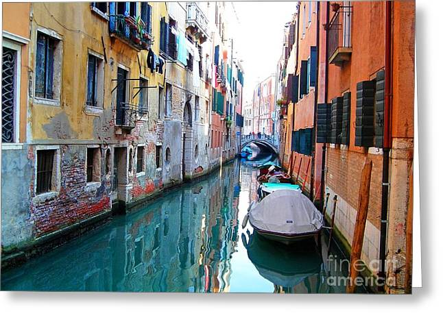 Venetian Calm Greeting Card