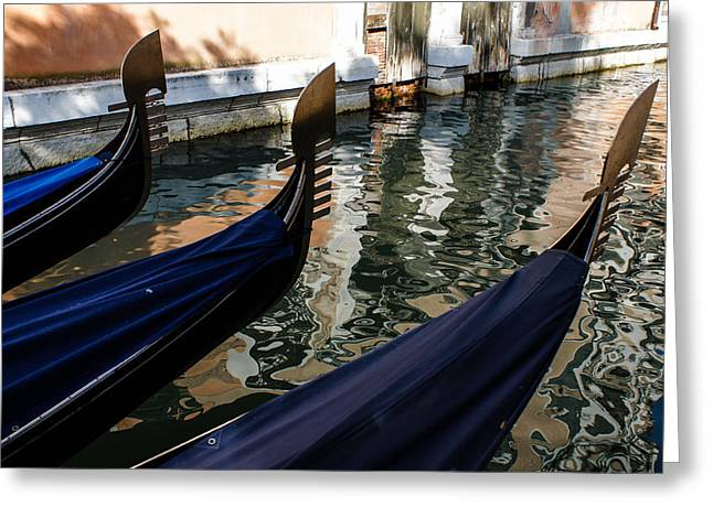Venetian Gondolas Greeting Card